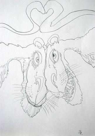 Rena Art Fotoalbum Kresby Ruzne 2009 Laska